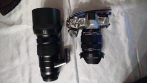 Kamera und Objektive